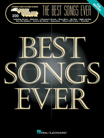 E-Z Play Today 200 The Best Songs Ever 2nd Edition