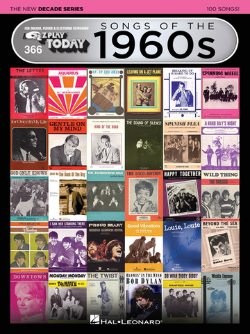 EZ Play Today 366: Songs of the 1960s - The New Decade Series