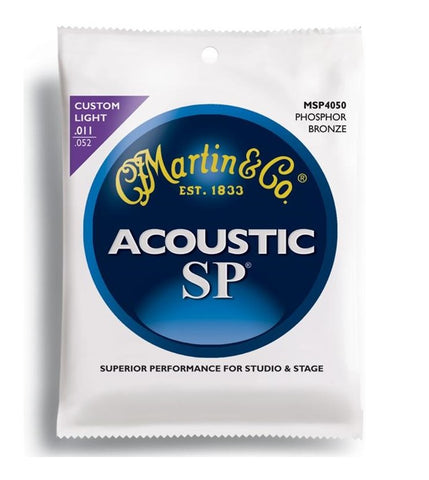 Martin Acoustic SP Custom Light Strings