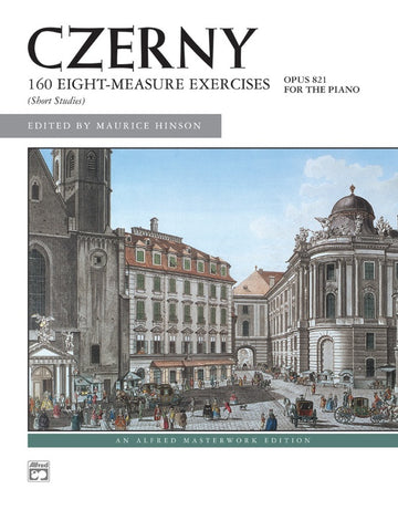 Czerny - 160 Eight Measure Exercises Opus 821 (Alfred)