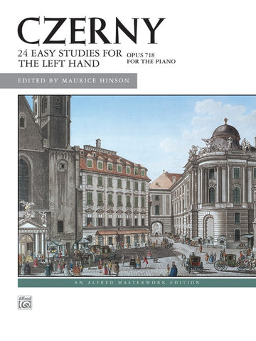 Czerny - 24 Easy Studies for the Left Hand Opus 718 (Alfred)
