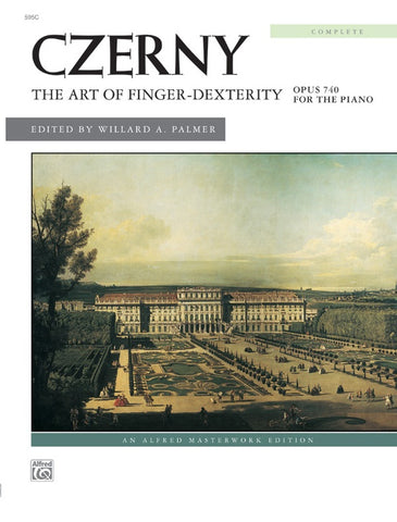 Czerny - The Art of Finger Dexterity Opus 740 (Complete) (Alfred)