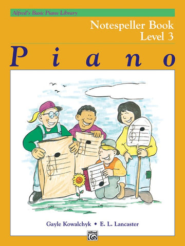 Alfred's Basic Piano Library Notespeller 3