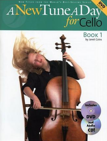 A New Tune A Day Cello Book 1 CD/DVD