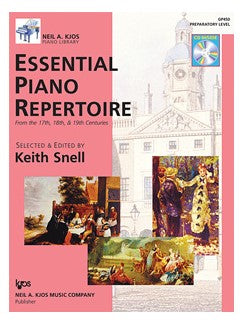 Essential Piano Repertoire Prep Level
