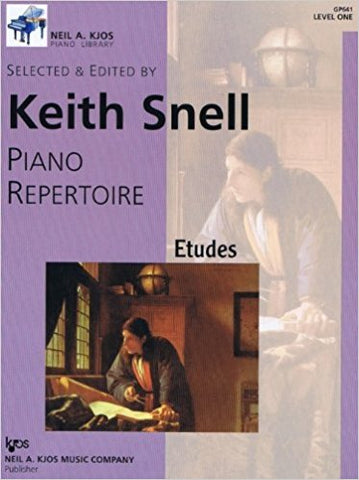 Piano Repertoire - Etudes - Level 1