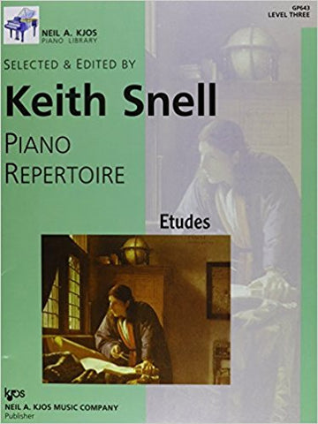 Piano Repertoire - Etudes - Level 3