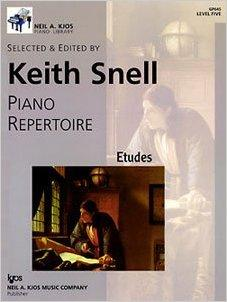 Piano Repertoire - Etudes - Level 5