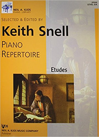 Piano Repertoire - Etudes - Level 6