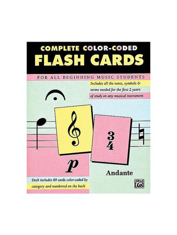 Alfred Complete Color-Coded Flashcards