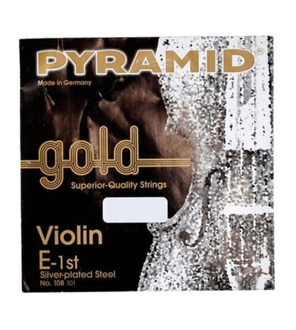 Pyramid Gold Violin String - Full Size Set