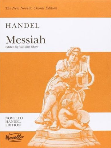 Handel Messiah Vocal Score, ed. Watkins Shaw (Novello)