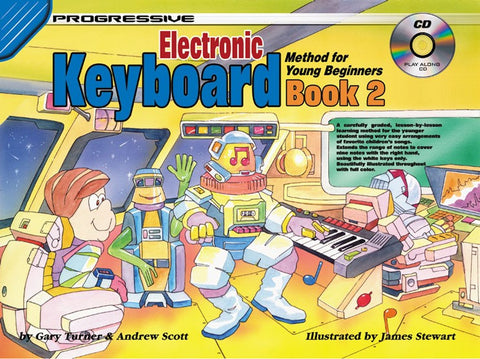 Progressive Young Beginner Keyboard 2 - Book/CD