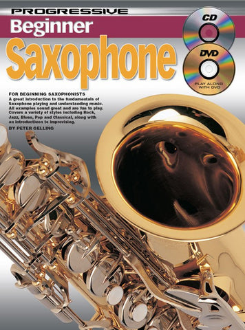Progressive Beginner Saxophone - Book/Online Video & Audio