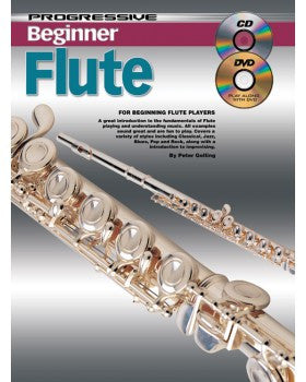 Progressive Beginner Flute - Book/CD/DVD