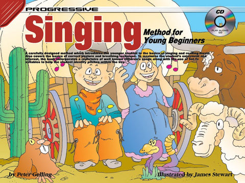 Progressive Young Beginner Singing - Book/Audio