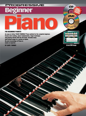 Progressive Beginner Piano - Book/CD/DVD