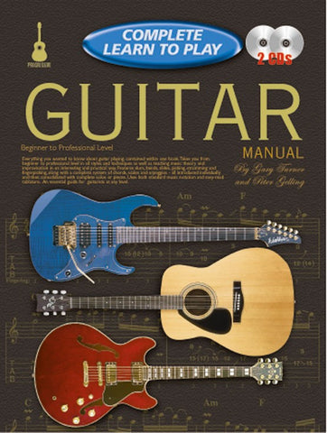 Complete Learn to Play Guitar Manual - Book/CD