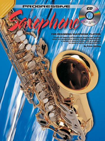 Progressive Saxophone - Book/CD