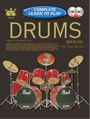 Complete Learn to Play Drums Manual - Book/CD