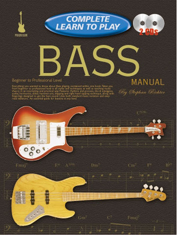 Complete Learn to Play Bass Manual - Book/CD