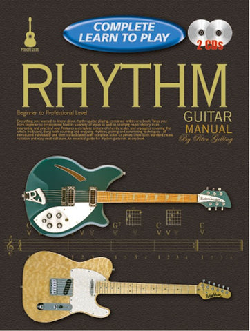 Complete Learn to Play Rhythm Guitar Manual - Book/CD