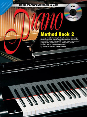 Progressive Piano Method 2 - Book/CD/DVD