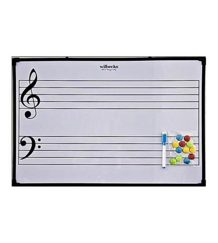 Easy Notes Magnetic Stave Board Only