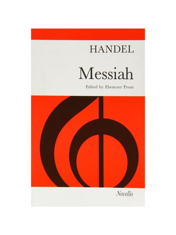 Handel Messiah Vocal Score, ed. Prout (Novello)