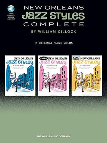 New Orleans Jazz Styles Complete (Book/Audio)