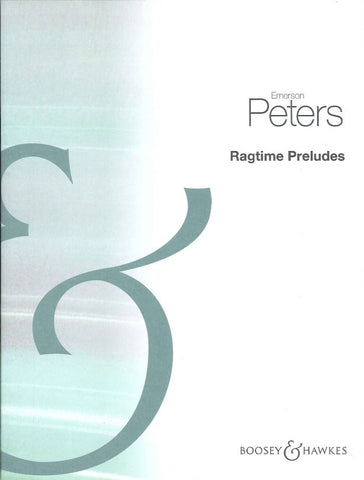Peters - Ragtime Preludes (Boosey)