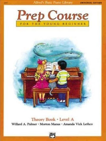 Alfred Prep Course Theory Book A