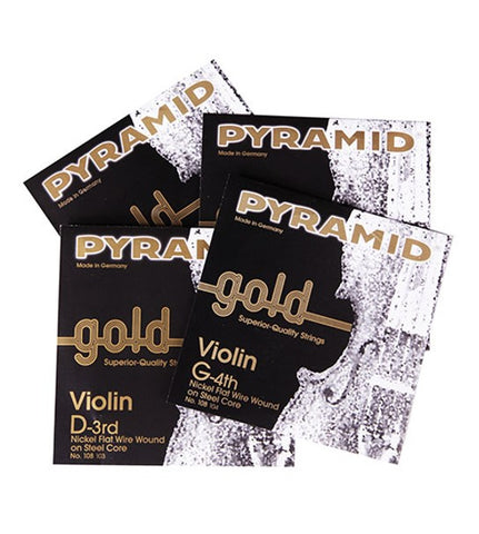 Pyramid Gold Violin String - Full Size D
