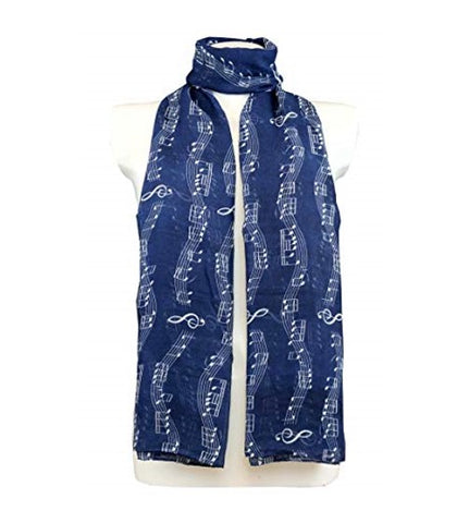 Deluxe Musical Notes Scarf