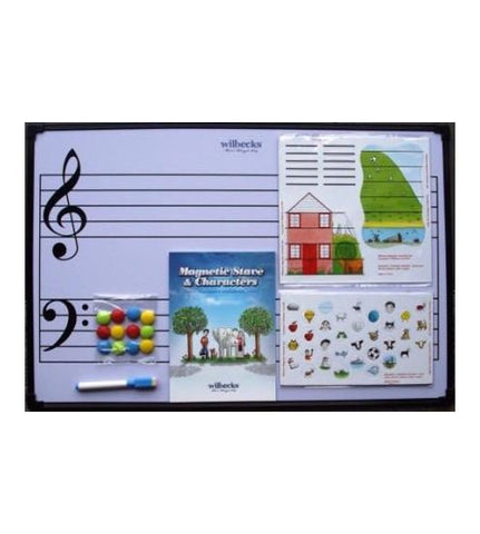 Easy Notes Magnetic Stave Bundle