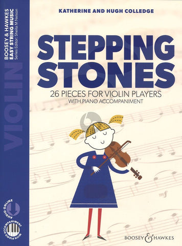 Stepping Stones for Violin Players