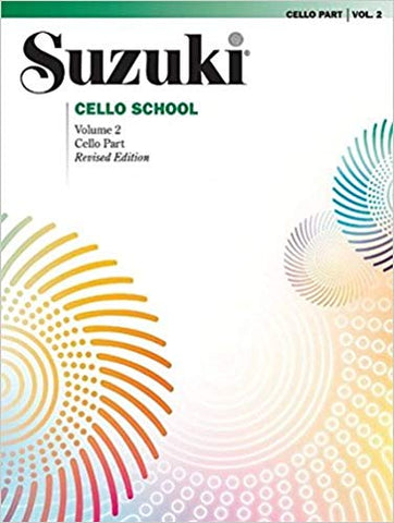 Suzuki Cello School Volume 2 Book only