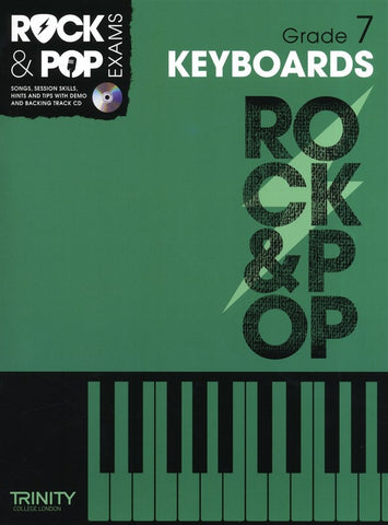 Rock & Pop Keyboards Grade 7 2012-2017