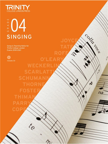 Trinity Singing Exam Pieces Grade 4 2018-2021