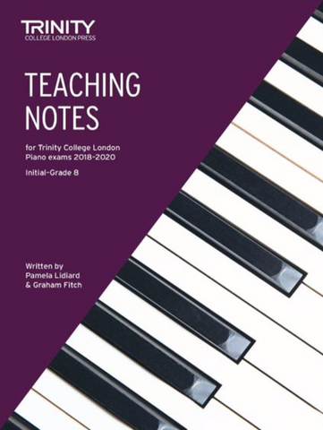 Trinity Piano Exam Teaching Notes - from 2018-2020