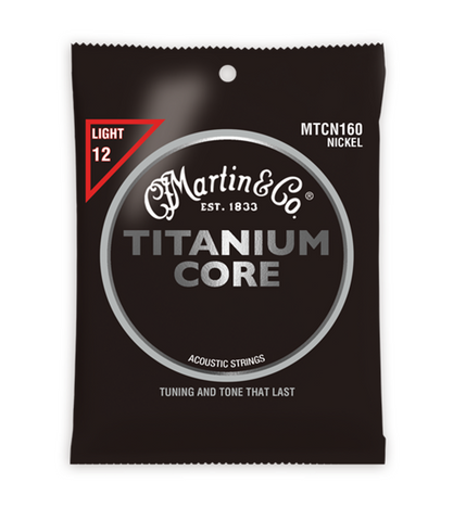 Martin Titanium Core MTCN160 Nickel Light Strings