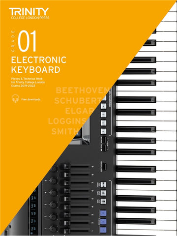 Trinity Electronic Keyboard Exam Pieces 2019-2022 Grade 1