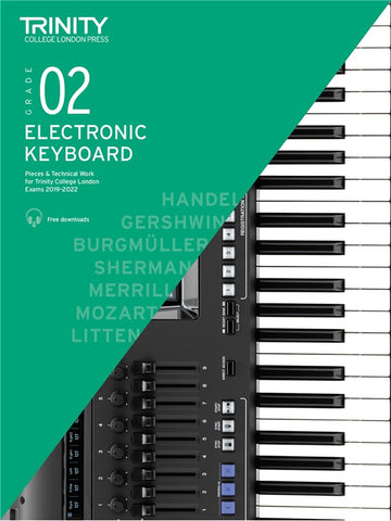 Trinity Electronic Keyboard Exam Pieces 2019-2022 Grade 2