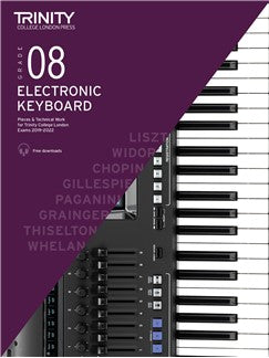 Trinity Electronic Keyboard Exam Pieces 2019-2022 Grade 8