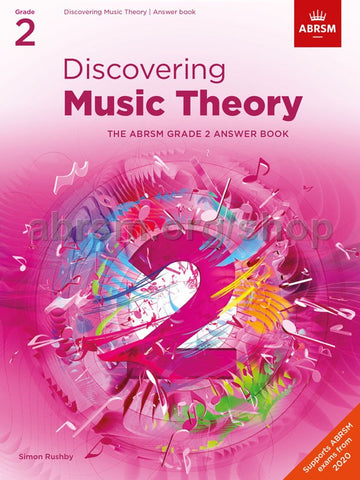 ABRSM Discovering Music Theory Answer Book Grade 2