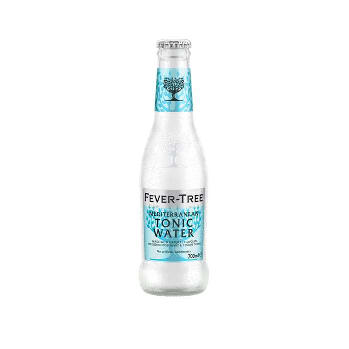 FEVER-TREE MEDITERRANEAN TONIC WATER, 20 CL