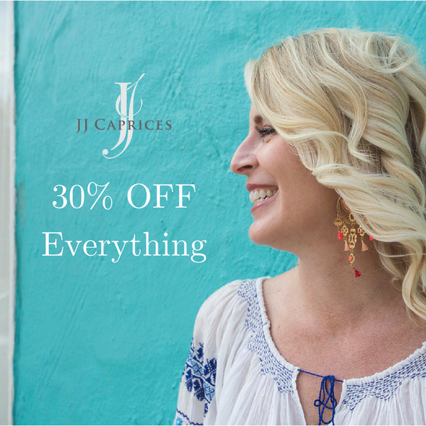 NOW OVER: 30% Off Everything SUMMER SALE!  Stay tuned for next year.