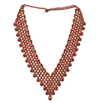 Hand Beaded Necklace from Guatemala