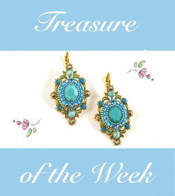Shana Turquoise Earrings by Satellite Paris