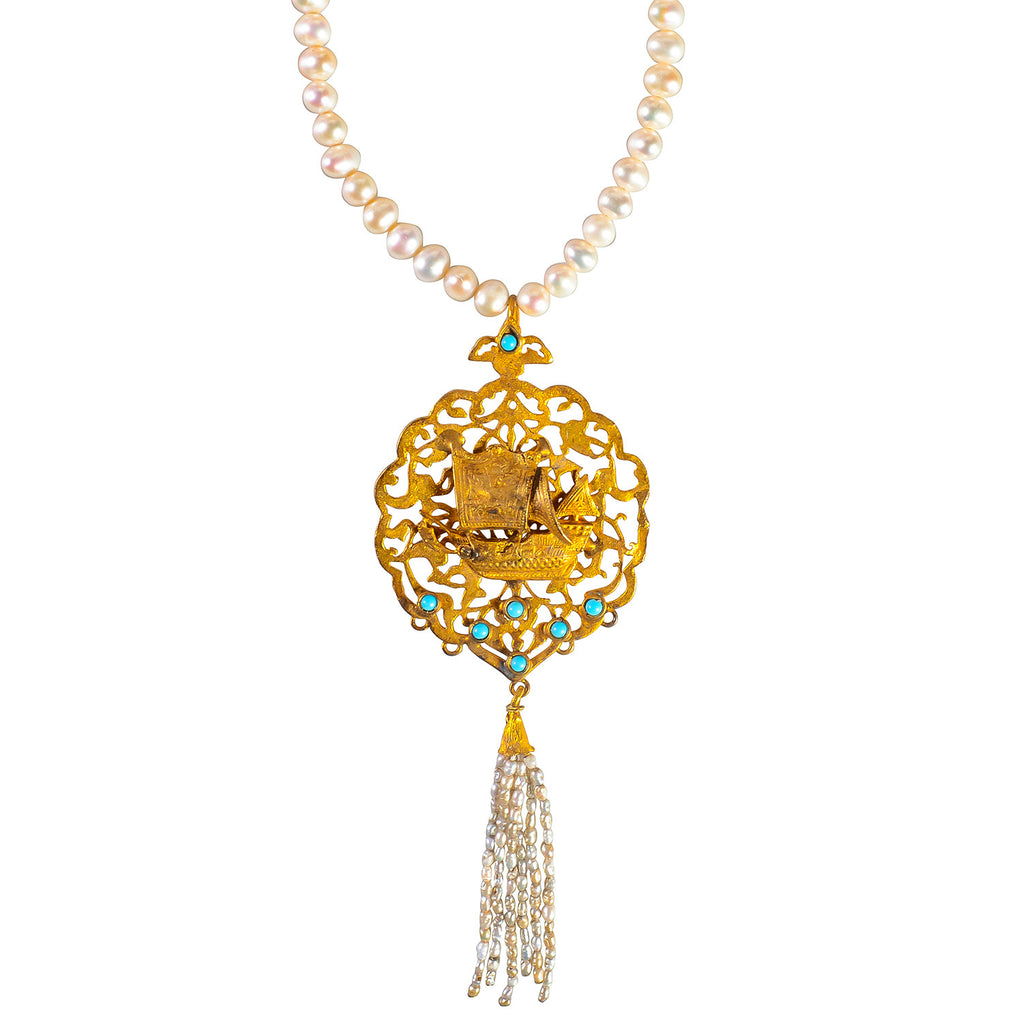 Ottoman Inspired Necklace by Hüseyin Sağtan